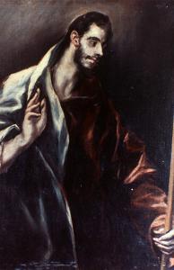 El Greco: St. Thomas by El Greco