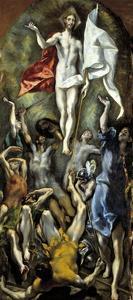 El Greco / The Resurrection, 1597-1600 by El Greco