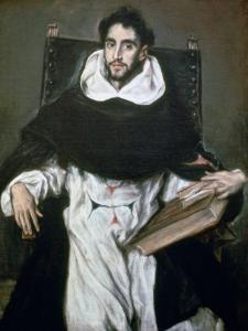 Fray Hortensio Felix Paravicino, 1609 by El Greco
