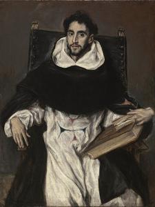 Fray Hortensio Felix Paravicino by El Greco