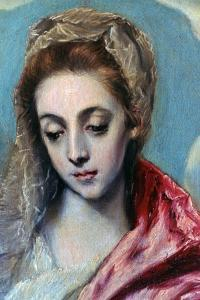 Holy Family with St Anne' (Detail), C1590-1595 by El Greco