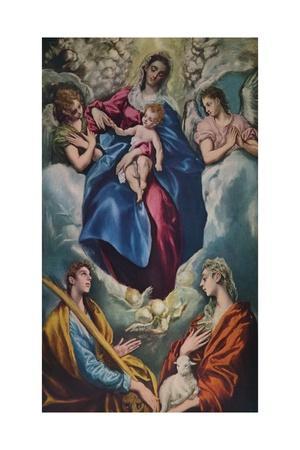'Madonna and Child with Saint Martina and Saint Agnes', 1597-1599