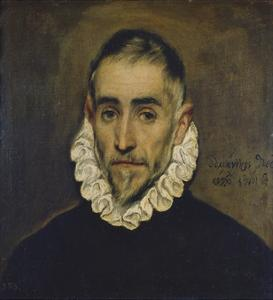Portrait of a Nobleman, about 1585/90 by El Greco