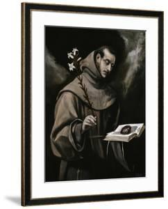 Saint Anthony of Padua, Ca. 1580 by El Greco