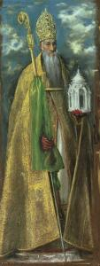 Saint Augustine of Hippo (354-430) 1590 by El Greco