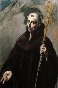 Saint Benedict, 1577-1579 by El Greco