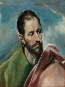 Saint James the Younger by El Greco