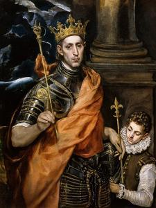 Saint Louis King of France by El Greco