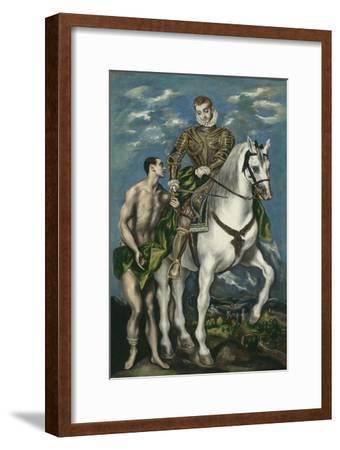 Saint Martin and the Beggar, 1597-1600