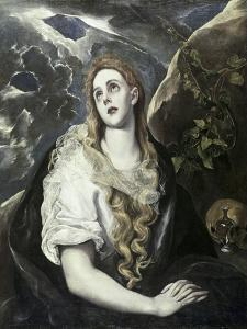 Saint Mary Magdalene in Penitence by El Greco