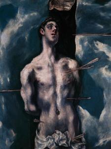 Saint Sebastian, 1610-1614 by El Greco