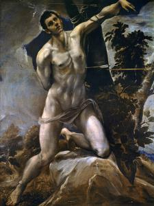Saint Sebastian by El Greco