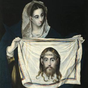 Saint Veronica by El Greco