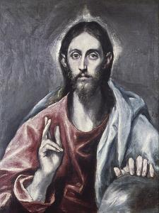 Savior of the World by El Greco