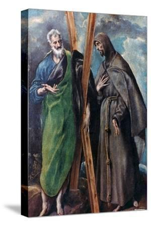 St Andrew and St Francis, C1590-1595