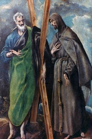 St Andrew and St Francis, C1590-1595 by El Greco