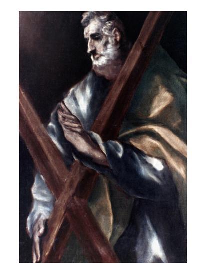 El Greco: St. Andrew-El Greco-Giclee Print