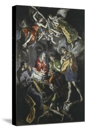 The Adoration of the Shepherds 319X180Cm Painted at End of His Life