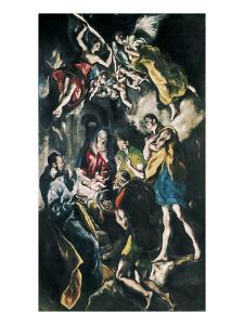 The Adoration of the Shepherds by El Greco