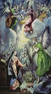 The Annunciation, about 1597/1600 by El Greco