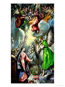 The Annunciation by El Greco