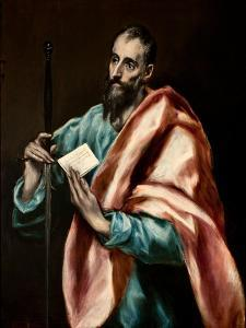 The Apostle Paul by El Greco