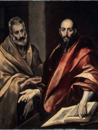 The Apostles St. Peter and St. Paul, 1587-1592