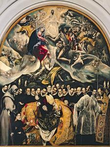 The Burial of Count Orgaz, from a Legend of 1323, 1586-88 by El Greco