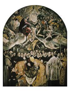 The Burial of Count Orgaz by El Greco