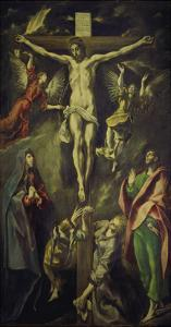 The Crucifixion. after 1590 by El Greco