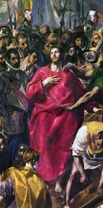The Disrobing of Christ, 1577-1579 by El Greco