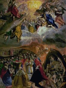 The Dream of Philip (Felipe) II, 1579 by El Greco