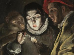 The Fable, C. 1580 by El Greco