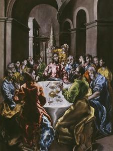 The Feast in the House of Simon, 1608-14 by El Greco