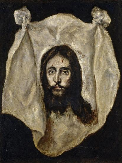 El Greco / The Holy Visage, 1586-1595--Giclee Print
