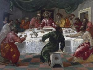 The Last Supper, 1564 by El Greco