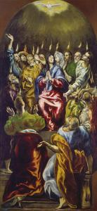 The Pentecost, about 1605/10 by El Greco