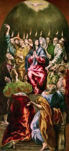 The Pentecost, circa 1604-14 by El Greco