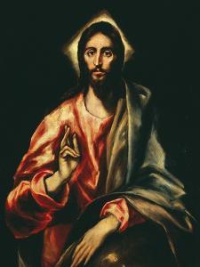 The Savior by El Greco