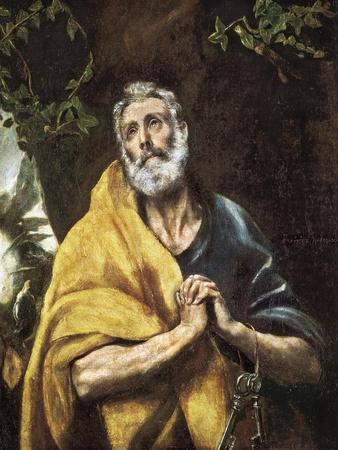 """The Tears of Saint Peter"", c.1594-1604"