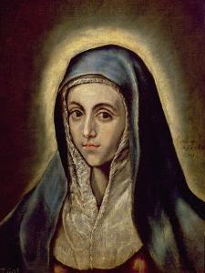 The Virgin Mary, c.1594-1604 by El Greco