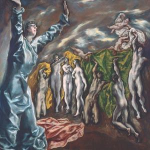 The Vision of Saint John by El Greco