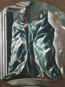 The Visitation, 1607-1614 by El Greco