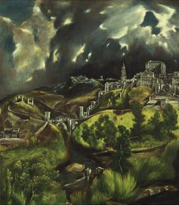View of Toledo, C. 1597-99 by El Greco