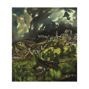 View of Toledo, C. 1597-99 by El Greco