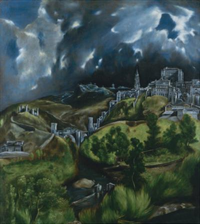 View of Toledo, C. 1598 by El Greco