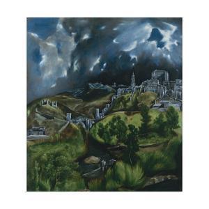 View of Toledo, C. 1598 by El Greco