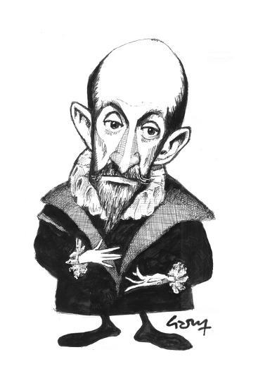 El Greco-Gary Brown-Giclee Print