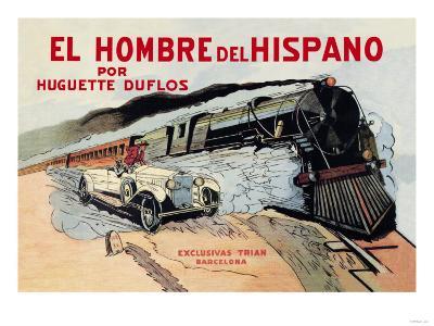 El Hombre del Hispano--Art Print