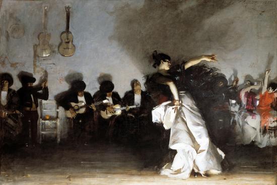 El Jaleo, 1882-John Singer Sargent-Giclee Print